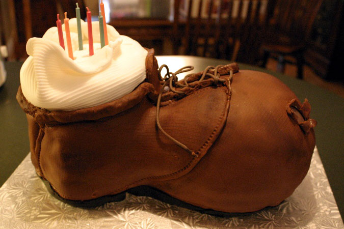 old boot cake 1