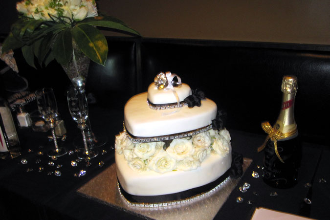 engagement party cake designs