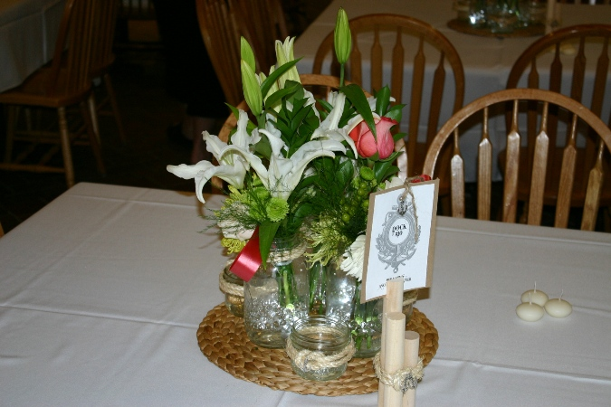 nautical themed wedding centerpieces