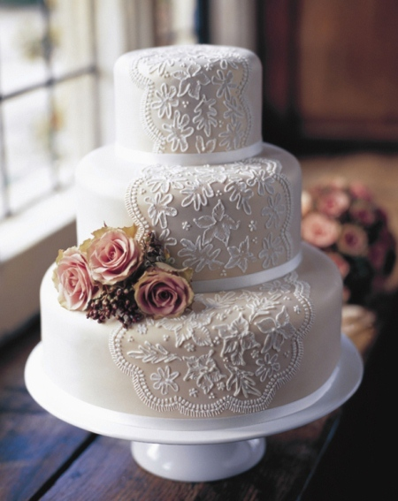 Wedding Cake Ideas Thatweddinggirlcom - 3 Tier Wedding Cakes