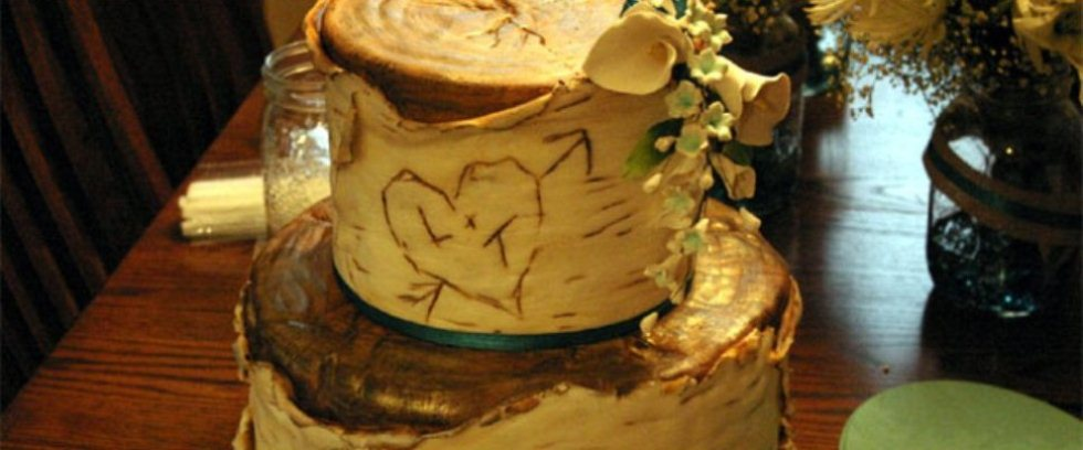 Alternative Wedding Cake Design